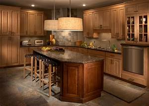 Maple and Cherry Kitchen - Traditional - Kitchen
