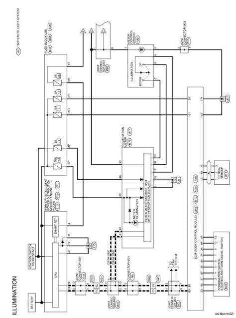 Nissan Rogue Service Manual Illumination Wiring Diagram