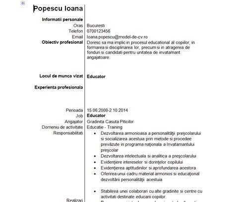 Iti Resume Model by Model Cv Educator