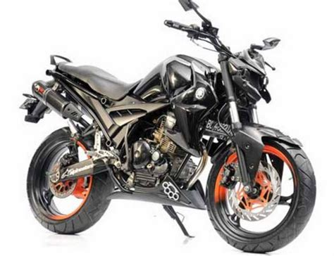 Modif Scorpio Fighter by Foto Modifikasi Yamaha Scorpio Touring Paling Gagah Dan Maco
