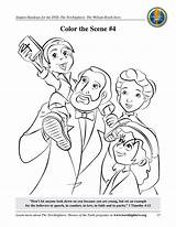 Booth Torchlighters William Coloring Games sketch template