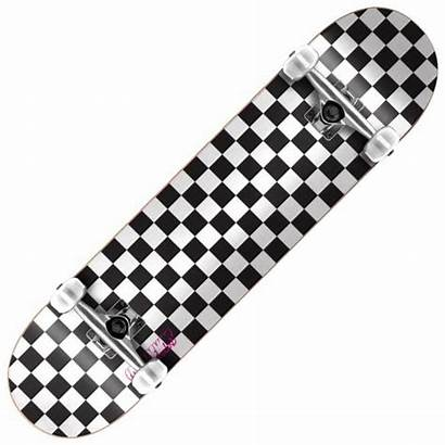 Checkers Skateboard Speed Complete Demons Skateboards Skate