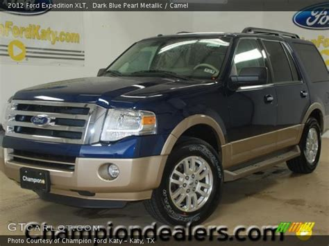 2012 Ford Expedition Xlt by Blue Pearl Metallic 2012 Ford Expedition Xlt