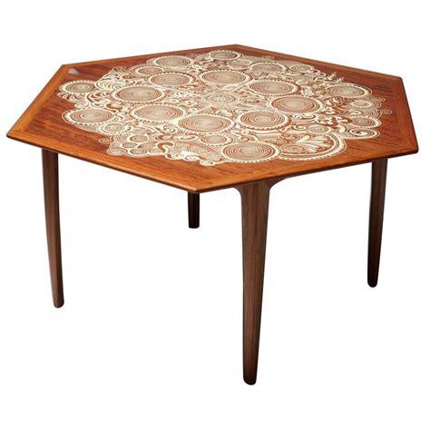 rosewood folding dining table swirl  naihan li