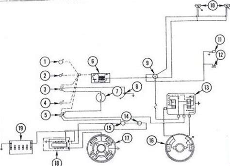 massey ferguson  tractor wiring diagram diesel system tractors pinterest tractor