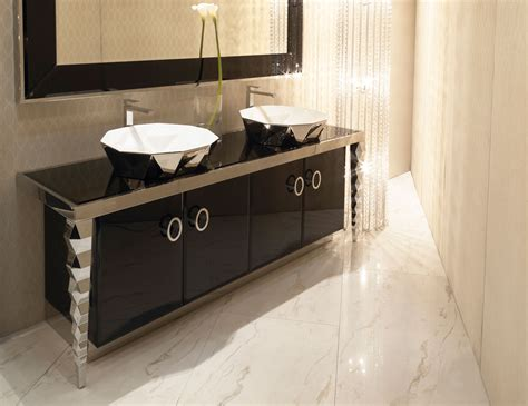 visionnaire portorose luxury italian vanity  stainless steel