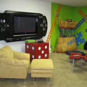 Gaming Zimmer Deko : 23 besten gamer room bilder auf pinterest spielzimmer gamer zimmer und nerdzimmer ~ Markanthonyermac.com Haus und Dekorationen