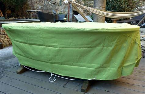 housse de protection salon de jardin housse pour table de jardin ovale 200 cm design de maison