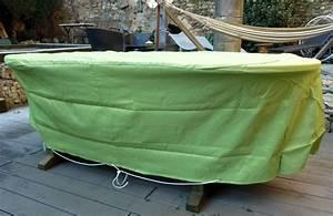 Housse Table De Jardin : housse pour salon de jardin ~ Teatrodelosmanantiales.com Idées de Décoration