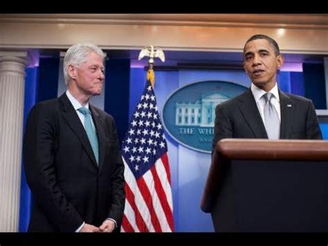 Bill Clinton Obama Meme - press briefing with president obama and president clinton youtube