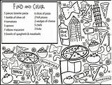 Coloring Pages Restaurant Getdrawings sketch template