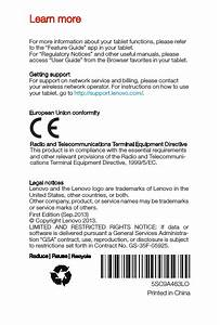 Lenovo S5000f Tablet Pc Lenovo S5000