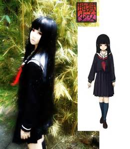 Anime Hell Girl Cosplay