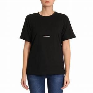3236d12d Tee Shirt Saint Laurent. saint laurent saint laurent logo t shirt ...
