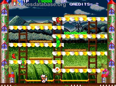 Super Burger Time Arcade Games Database