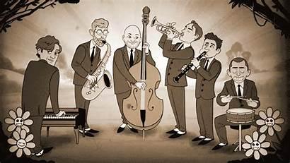 Jazz Cartoon Cartoonists Band Queen Cartoonist Queens