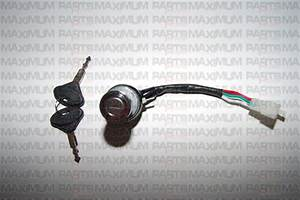 Ignition Switch 3 Wires 6 000 158 - 250 Gt - Go Kart    Dune Buggy - Hammerhead