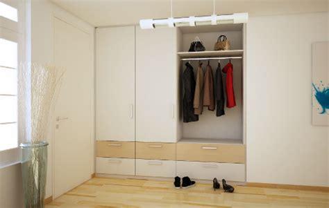 möbel garderobe modern einbauschrank flur nische wohnideen interior design einrichtungsideen bilder homify