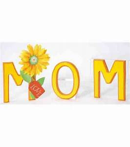 17 best images about mother39s day with jo ann on pinterest With mom wooden letters