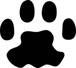 cat paw print images clipart cat paw print