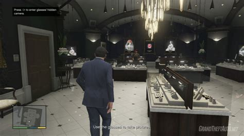 Casing The Jewel Store  Grand Theft Auto V