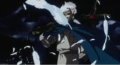 Anime Angel Dark Retro Futuristic