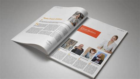 magazine layout template   psd vector eps png
