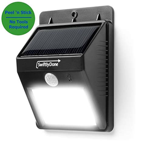 best outdoor solar motion security lights top 9 reviews