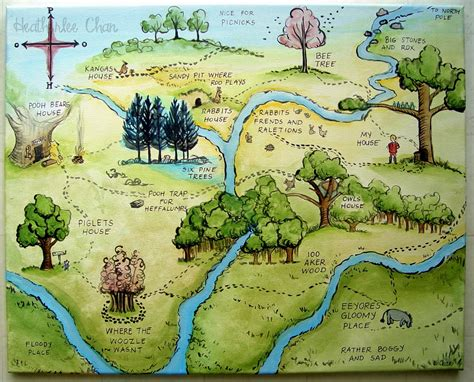 Winnie-the-pooh Map Sets Record At Auction
