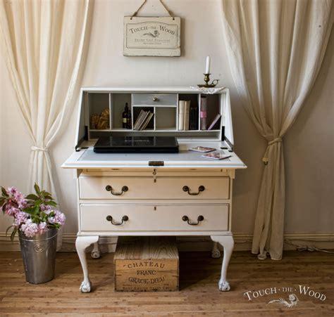 bureau desk uk shabby chic writing desk bureau no 15 touch the wood