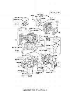 Kawasaki Fh680v Crankcase