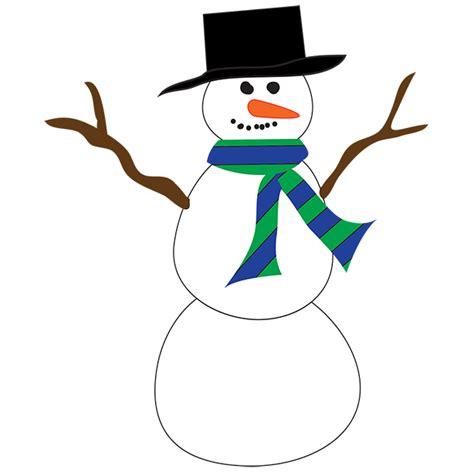 Clipart Snowman Snowman Clipart New Calendar Template Site