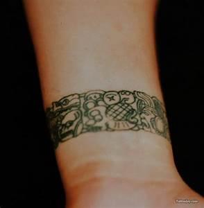 Tattoo Armband Handgelenk : mayakultur tattoos 40 neue bilder ~ Frokenaadalensverden.com Haus und Dekorationen
