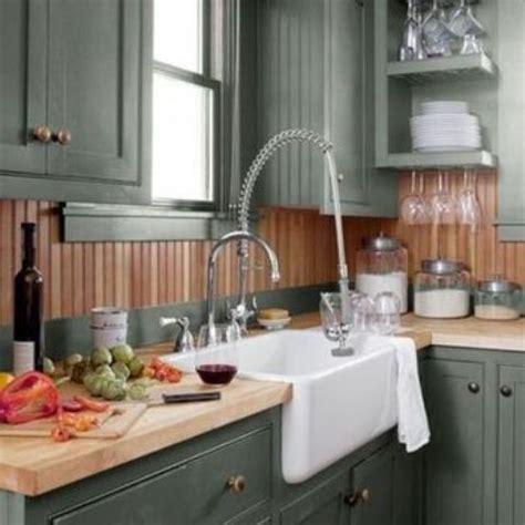 grey kitchen cabinets with backsplash 25 beadboard kitchen backsplashes to add a cozy touch