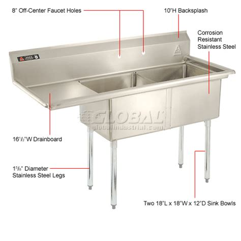 utility sink with drainboard freestanding sinks washfountains freestanding sinks stainless