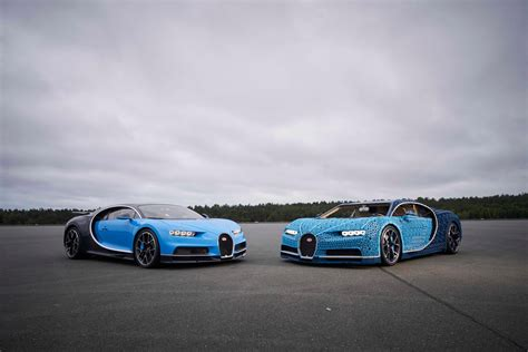 It was made using lego technic parts. Life-sized drivable Bugatti Chiron built entirely out of Lego   London Evening Standard