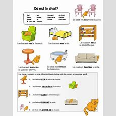 French Preposition Practice By Chezgalamb  Teaching Resources Tes