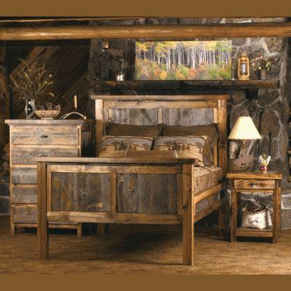 wyoming reclaimed wood bedroom set