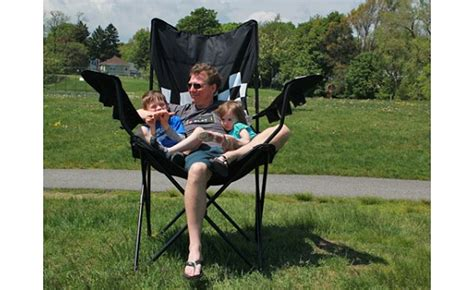 Kingpin Giantoversized Folding Chair by Kingpin Large Folding Chair And Z Umbrella With Fan