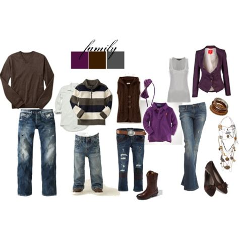 Outfit Ideas for Family Photos and Pictures