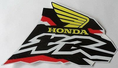 xr250 decal sticker for honda xr 250 gas tank 19 99 picclick