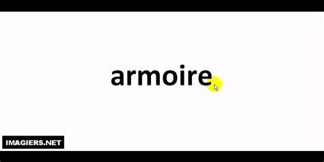 Armoire Pronunciation by How To Pronounce In Armoire