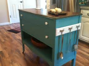 repurposed kitchen island repurposed upcycled dresser made into charming turquoise aqua