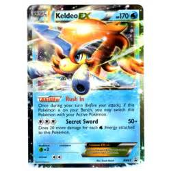 pokemon card keldeo ex bw61 promo card brand new p504