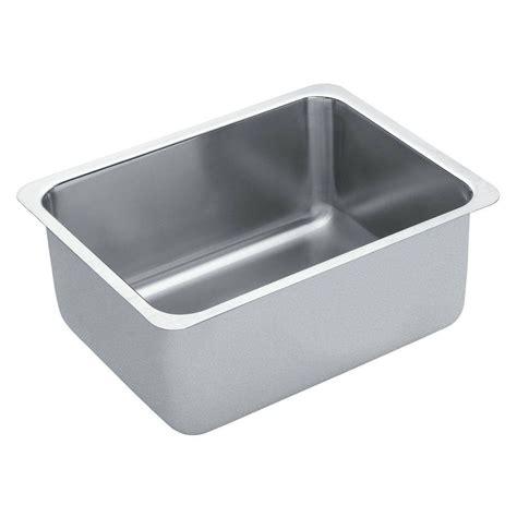 moen undermount kitchen sinks moen 1800 series undermount stainless steel 21 in single 7841