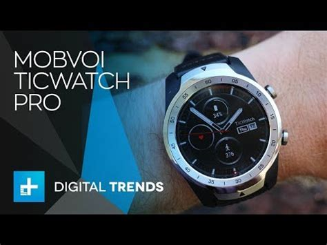 mobvoi ticwatch pro on review