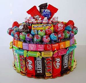 Candy Bar Cake 15 Cool Ideas