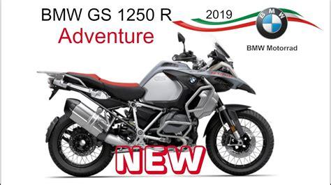 bmw 1250 gs adventure bmw gs 1250 adventure novita 2019