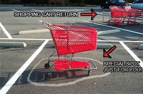 Shopping Cart Meme - parking lot etiquette caliber paving