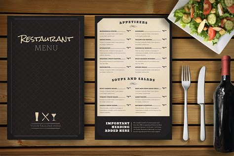 The restaurant branding mockups mentioned in the below lines have the potency to address all this free download restaurant branding mockup comes with more than 100 objects which are for. Restaurant Menu Mockup ~ Print Mockups ~ Creative Market